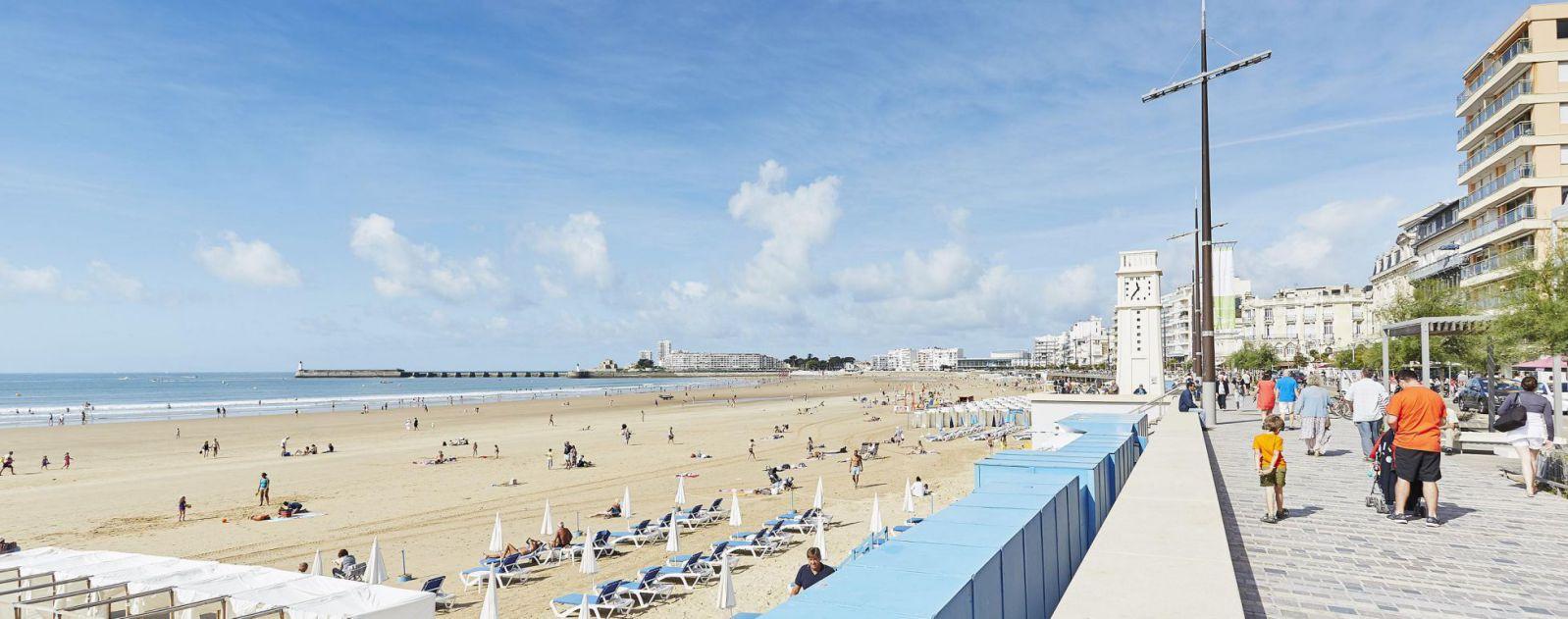 Sables-d'Olonne : une station balnéaire dédiée aux vacances